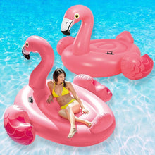 Amazing 7 Inflatable Flamingo Swimming Seat, with Head Rest, Pool Float, Fun Beach Floats, Swim Party Toys, Summer Pool Raft Lounge