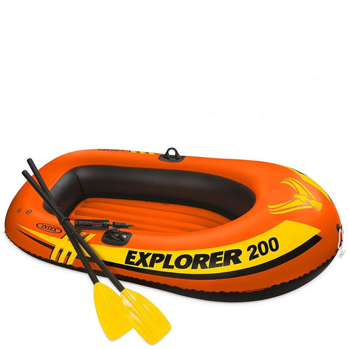 Explorer 200, Explorer 300 Inflatable Boat with Oars & Pump, Cheaper than on Amazon