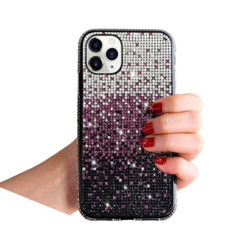 Amazing 7 Gradient Color Phone Case, Women's Bling Bling Creativity Case, Compatible with iPhone 12 mini, for iPhone  12 mini, 5.4 Inches
