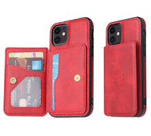 Amazing 7 Magnetic Synthetic Leather Case, Compatible for iPhone 12, iPhone 12 Pro,  Men's Women's Business iPhone Case, Card Wallet Holder, Phone Stand, for iPhone 12, iPhone 12 Pro, 6.1 Inches