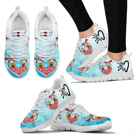 Valentine's Day Special-Cairn Terrier Print Running Shoes For Women-Free Shipping-Paww-Printz-Merchandise