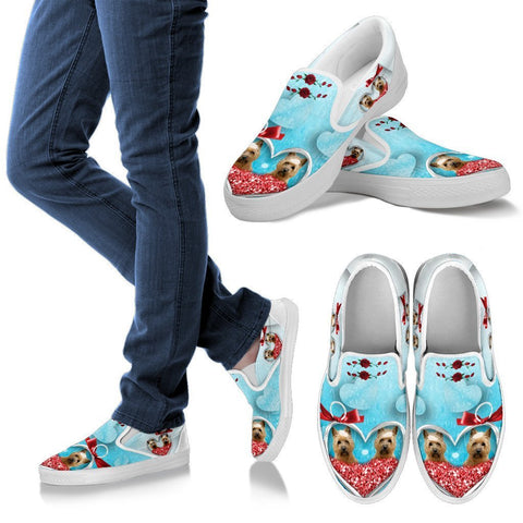 Valentine's Day Special-Cairn Terrier Print Slip Ons For Women-Free Shipping