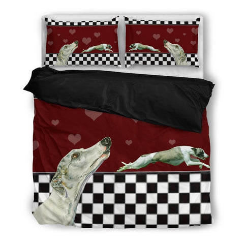 Valentine's Day Special-Whippet Dog Print Bedding Set-Free Shipping