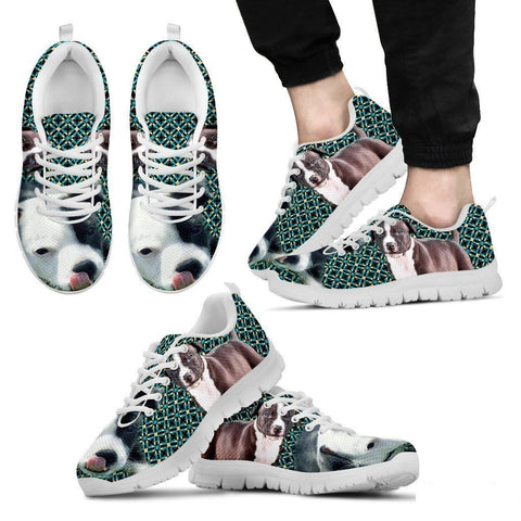 American Staffordshire Terrier-Dog Running Shoes For Men-Free Shipping Limited Edition-Paww-Printz-Merchandise