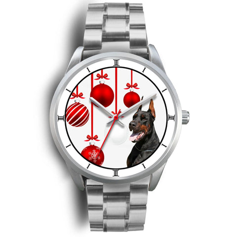Doberman Pinscher Christmas Special Wrist Watch-Free Shipping