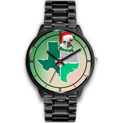 Bulldog Texas Christmas Special Wrist Watch-Free Shipping