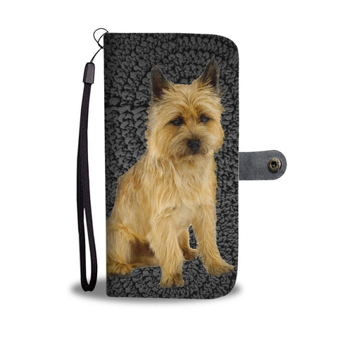 Cairn Terrier Dog Print Wallet Case-Free Shipping
