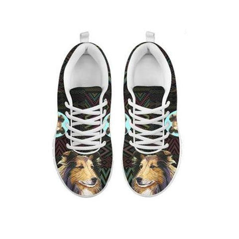 Amazing Collie Dog-Women's Running Shoes-Free Shipping-For 24 Hours Only-Paww-Printz-Merchandise
