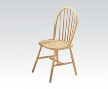 Load image into Gallery viewer, Acme Farmhouse Natural Wood Finish 2 Piece Dining Chair