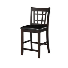 Load image into Gallery viewer, Homelegance Junipero Cherry Wood Finish 2 Piece Counter Height Dining Chair