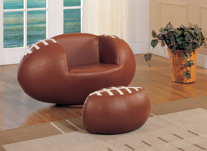 Acme 05526 All Star Youth Football Swivel Chair and Ottoman