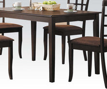 Load image into Gallery viewer, Acme 06850 Cardiff Espresso Wood Finish Traditional Dining Table