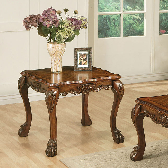 Acme 12166 Dresden Traditional Cherry Oak End Table