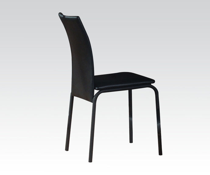 Acme Senon Youth Silver And Black Chair
