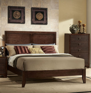 Acme Madison Espresso Queen Panel Bed