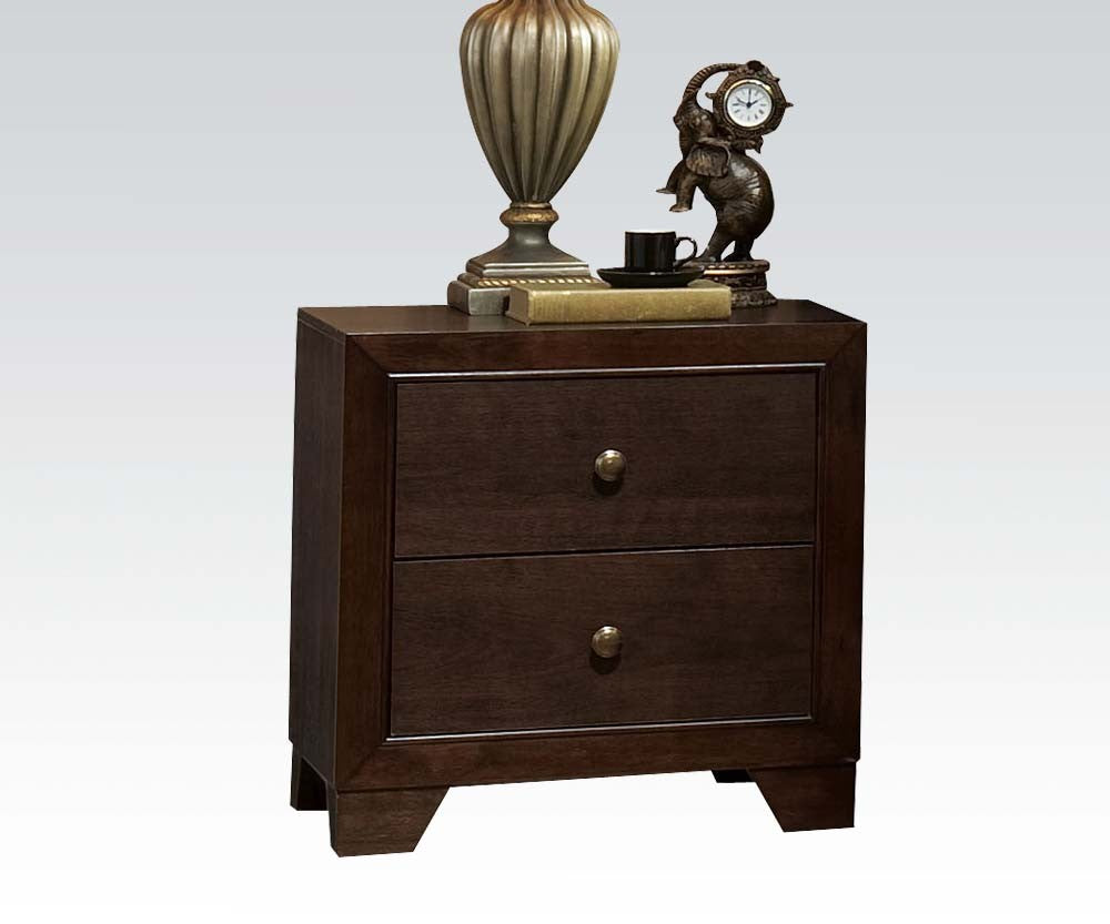 Acme Madison Espresso -Drawer Night Stand
