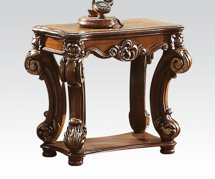 Acme Vendome Cherry Wood Finish Traditional End Table