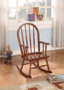 Acme Kloris Natural Oak Finish Rocking Chair