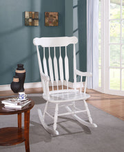 Load image into Gallery viewer, Acme Kloris White Rocking Chair