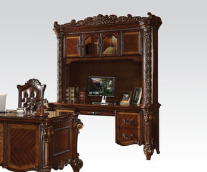 Acme Vendome Cherry Wood Finish Computer Desk Set