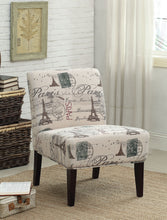 Load image into Gallery viewer, Acme Reece Fabric Finish Espresso Accent Chair