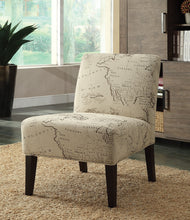 Load image into Gallery viewer, Acme 96229 Reece Fabric and Espresso Accent Chair
