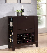 Load image into Gallery viewer, Acme 97010 Nelson Wenge Wine Cabinet with Drawer
