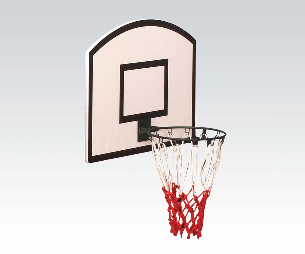 Acme 37306 Wayde White and Black Basketball Board for Loft Bed