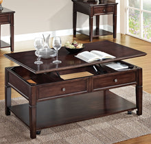 Load image into Gallery viewer, Acme Malachi Walnut Coffee Table with Lift Top