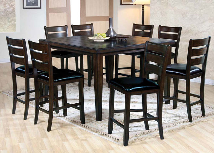 Acme Urbana Espresso Counter Height Dining Set