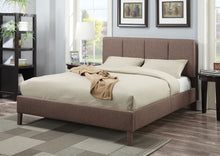 Load image into Gallery viewer, Acme Light Brown Queen Platform Bed