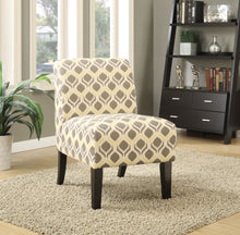 Load image into Gallery viewer, Acme 59440 Ollano Yellow Gray Fabric Finish Accent Chair