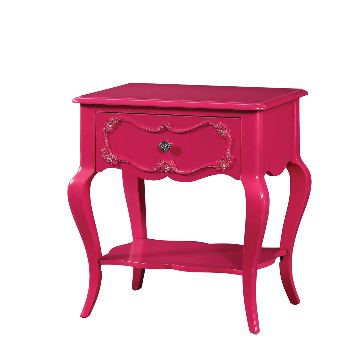 Acme 30512 Edalene Magenta Girl Drawer Night Stand