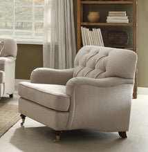 Load image into Gallery viewer, Acme 52582 Alianza Beige Fabric Finish Contemporary Chair
