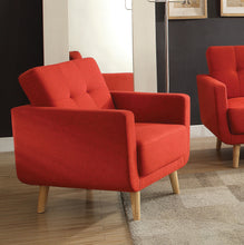 Load image into Gallery viewer, Acme 52662 Sisilla Contemporary Red Fabric Chair