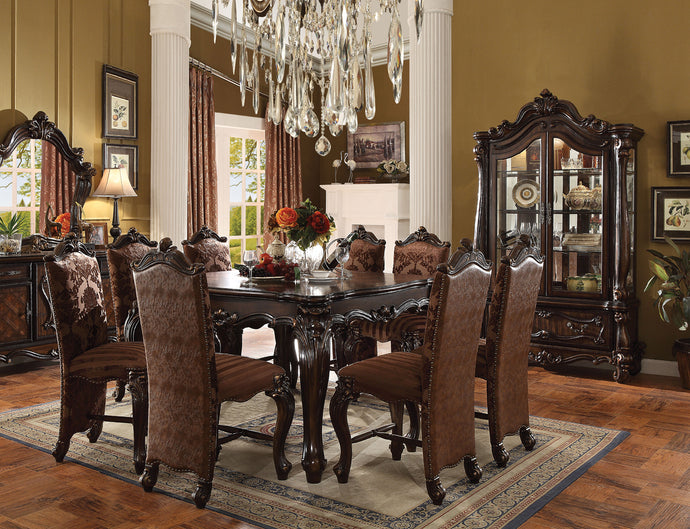 Acme Versailles Cherry Oak Counter Height Dining Set