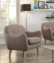 Load image into Gallery viewer, Acme Jillian Dark Gray Linen Accent Chair