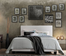 Load image into Gallery viewer, Acme 25710Q Lien White PU Leather Finish Queen Panel Bed