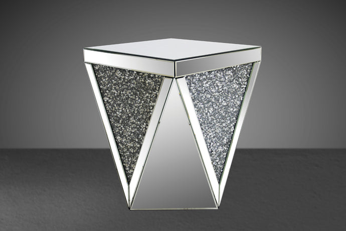 Acme Noralie Modern Mirrored End Table