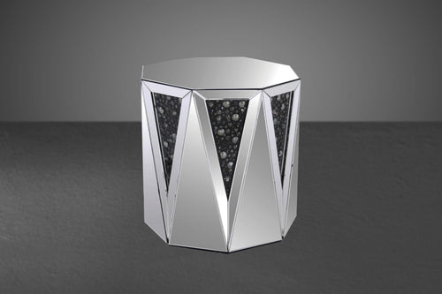 Acme Noor Modern Mirrored End Table