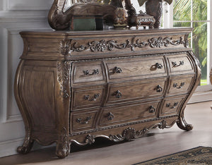 Acme 26315 Ragenardus Vintage Oak 11 Drawer Dresser