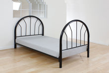 Load image into Gallery viewer, Acme Silhouette Black Kids metal Twin Bed