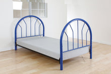 Load image into Gallery viewer, Acme Silhouette Blue Kids metal Twin Bed