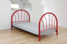 Load image into Gallery viewer, Acme Silhouette Red Kids metal Twin Bed