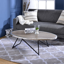 Load image into Gallery viewer, Acme Allis Weathered Gray Oak Coffee Table