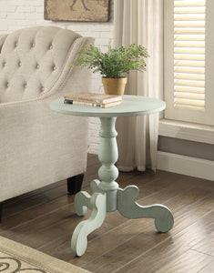 Acme Freida Antique Green End Table