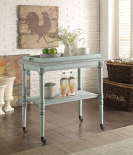 Load image into Gallery viewer, Acme Frisco Antique Green Tray Table