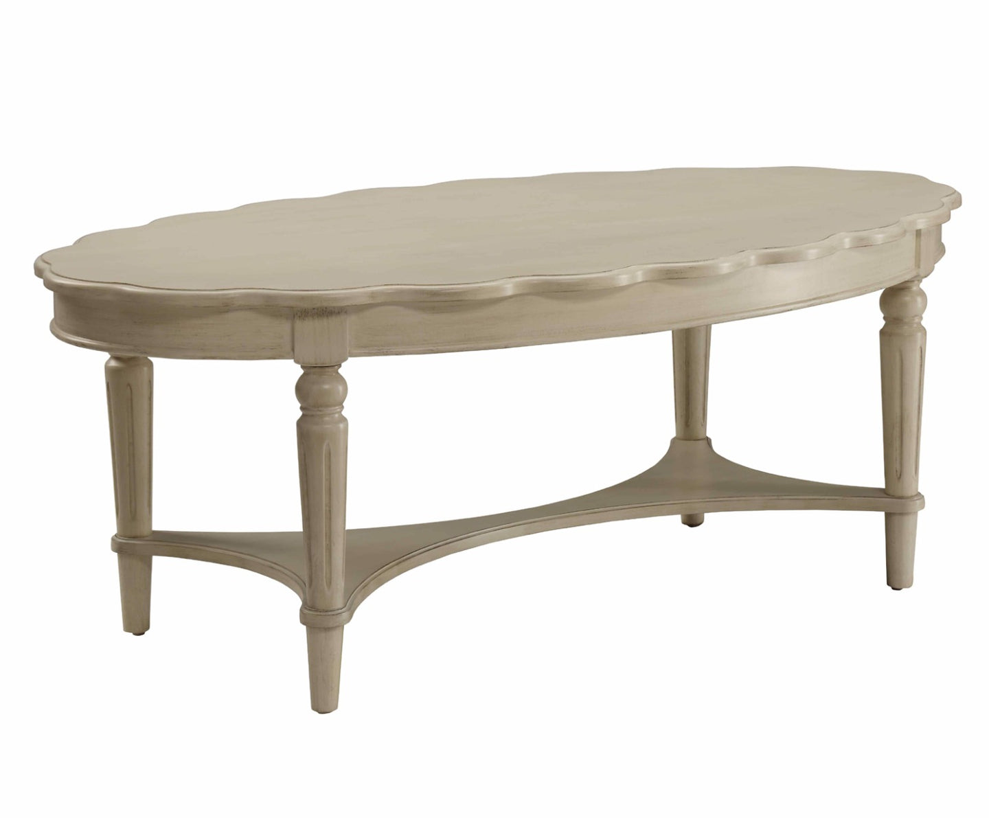 Acme Fordon Antique White Coffee Table