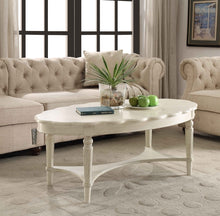 Load image into Gallery viewer, Acme Fordon Antique White Coffee Table