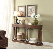Load image into Gallery viewer, Acme 97252 Garrison Oak finish Wooden Console Table